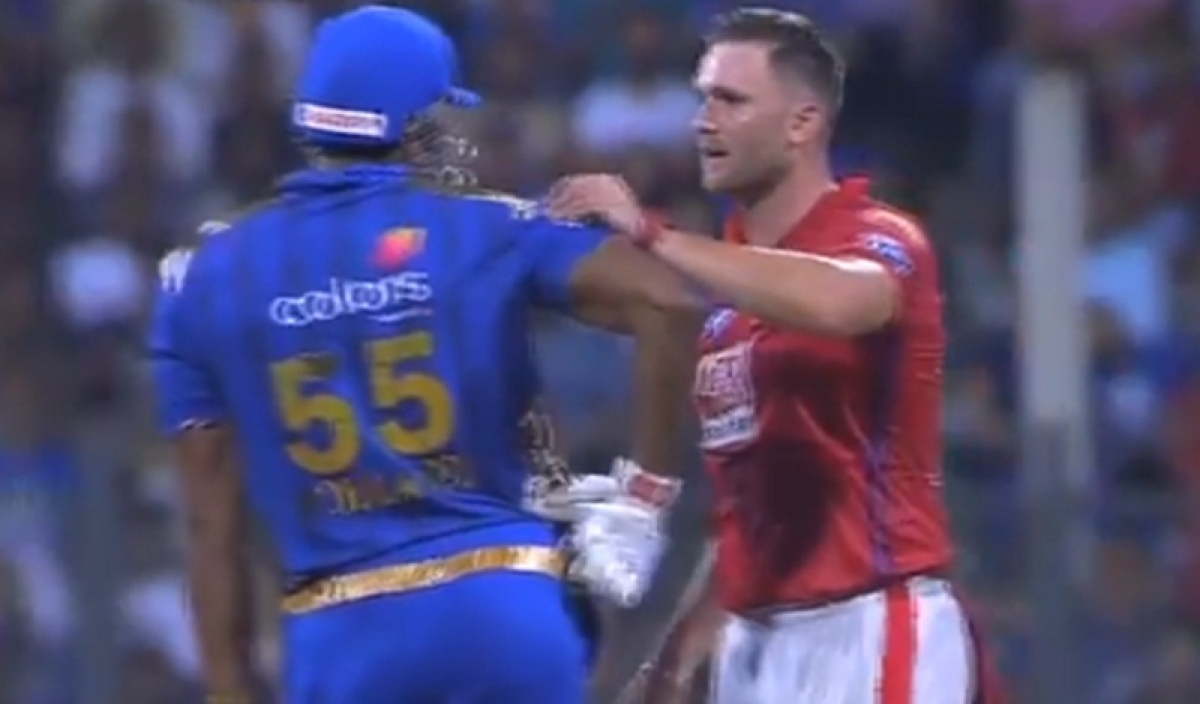 IPL 2019: Viljoen gesturing Pollard to take care after being hit with ball is perfect example of sportsman spirit, watch