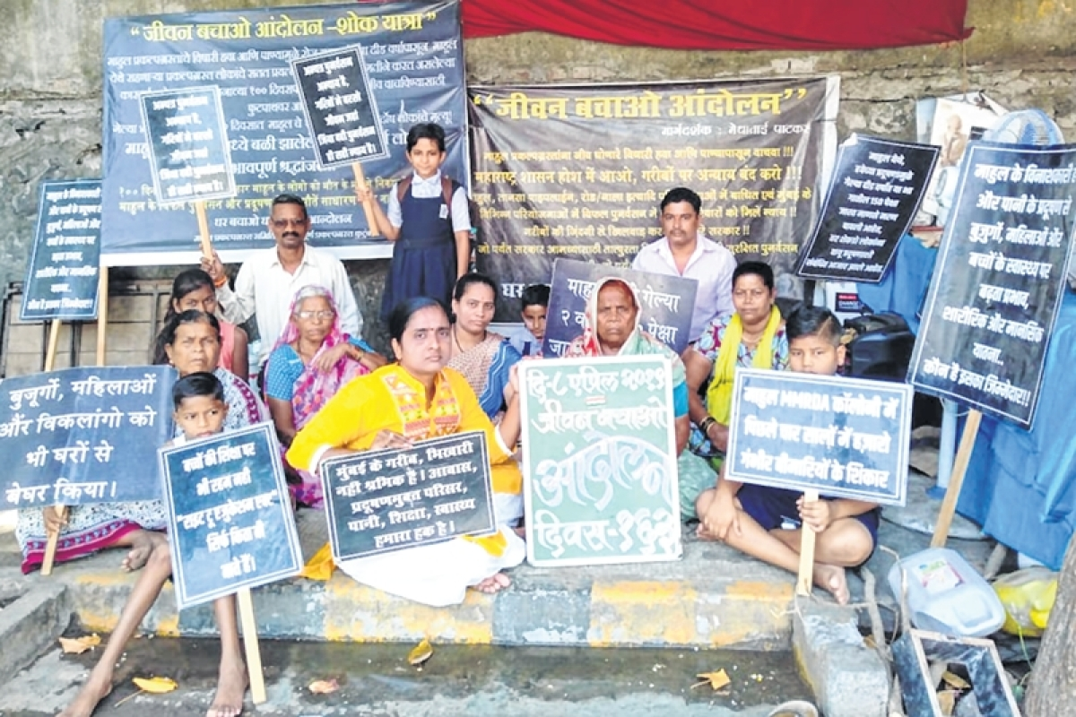 Mumbai: BMC's olive branch for Mahul residents, offers branded toilets, flooring if they continue to reside there