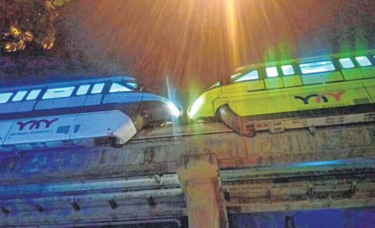 Mumbai: Power failure stalls monorail services for 44 minutes