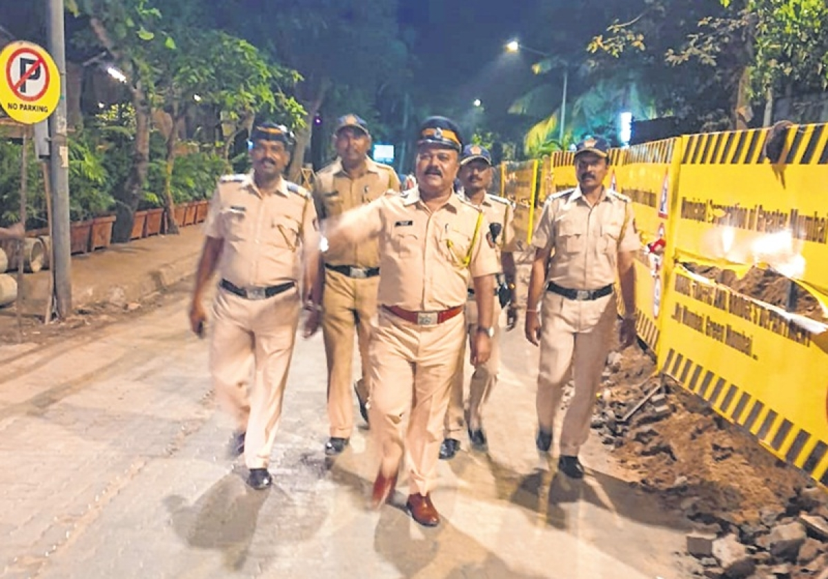 Police hit the streets for foot patrolling, to cast wider net