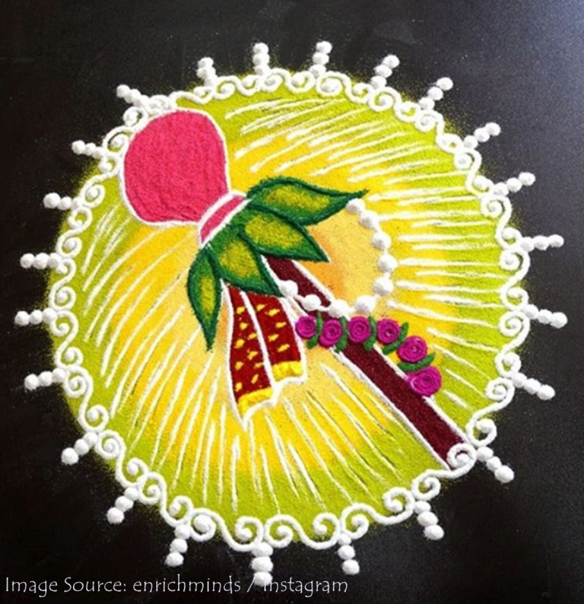 Gudi Padwa 2019: Brighten up your home with these easy rangoli patterns