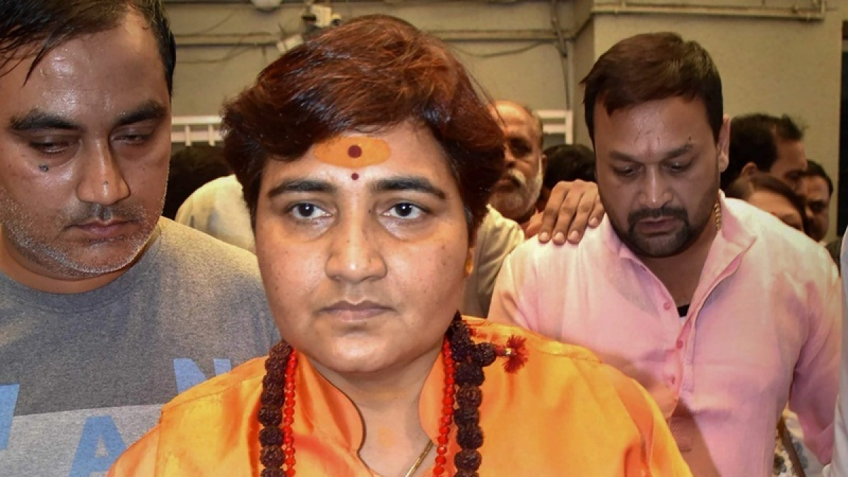 Bhopal: Pragya appointed member in Defence ministry's parl panel