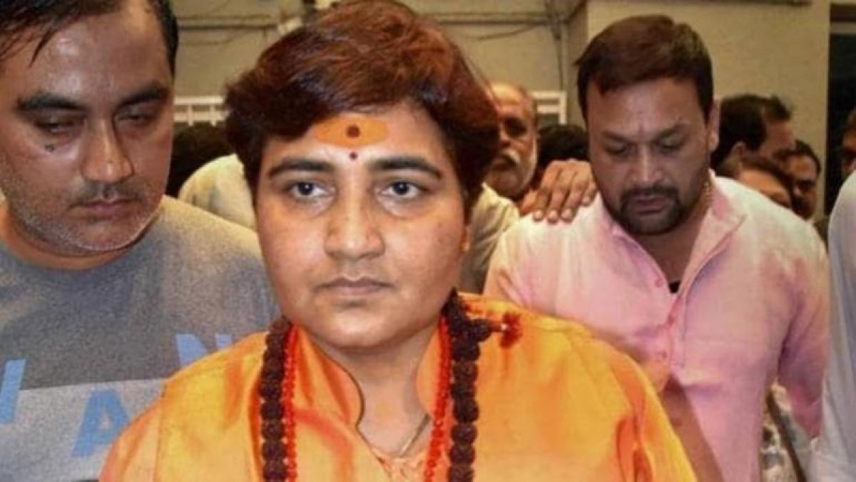 Sadhvi Pragya Thakur's curse reflects BJP's primitive world