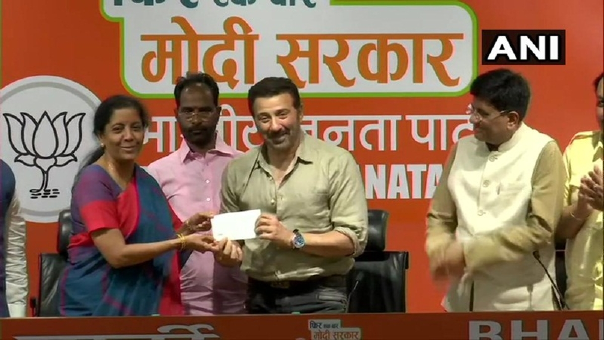 Lok Sabha elections 2019: Bollywood actor Sunny Deol joins BJP, says party is his family