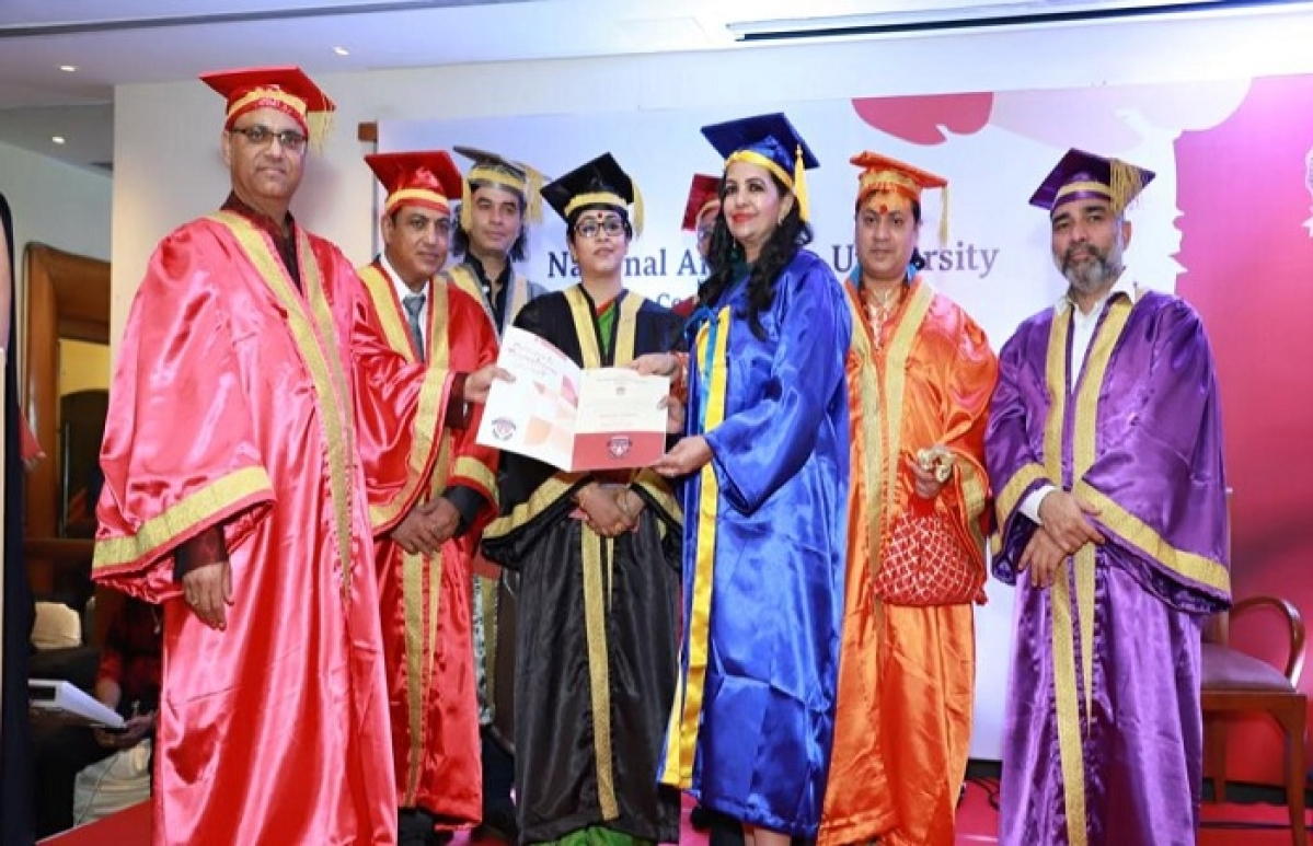 The National American University awards honorary doctorate to Shabnam Asthana and other eminent personalities