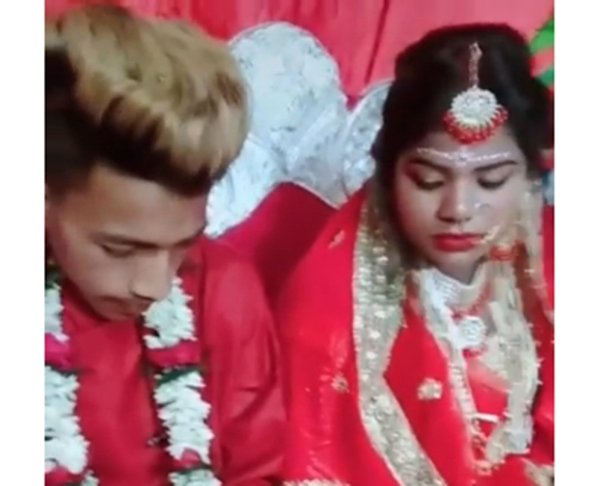 Groom plays PUBG at wedding even as bride awaits for game to get over, Tik Tok video goes viral