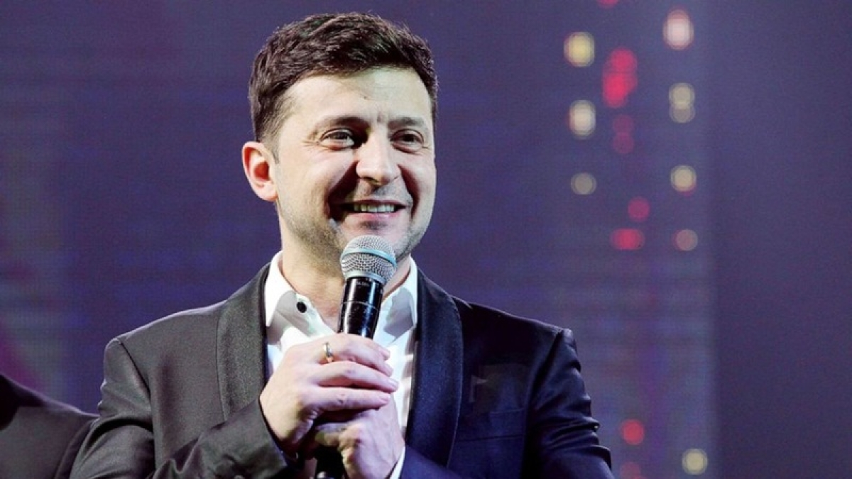 Actor, comedian Volodymyr Zelenskiy leads presidential polling in Ukraine