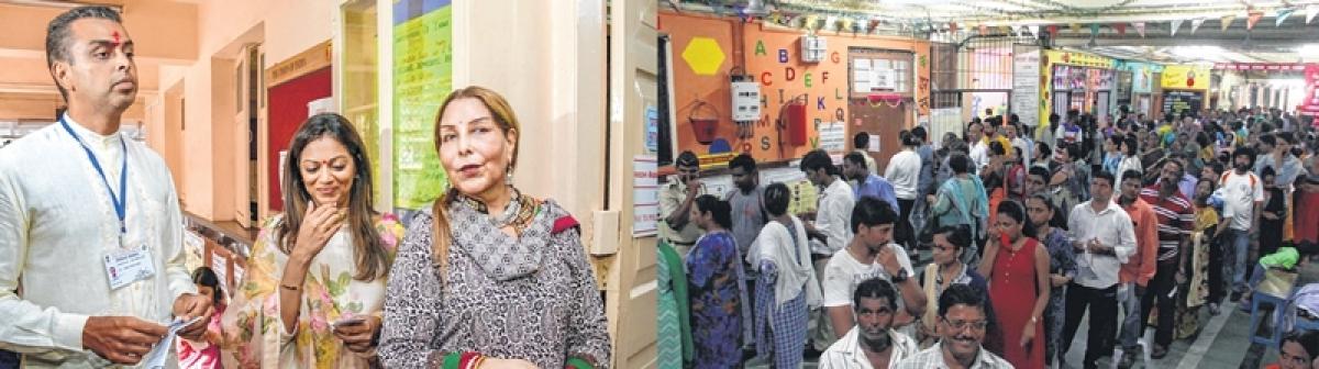 Lok Sabha elections 2019 – Phase 4: Elite, pavement dwellers rub shoulders on poll day