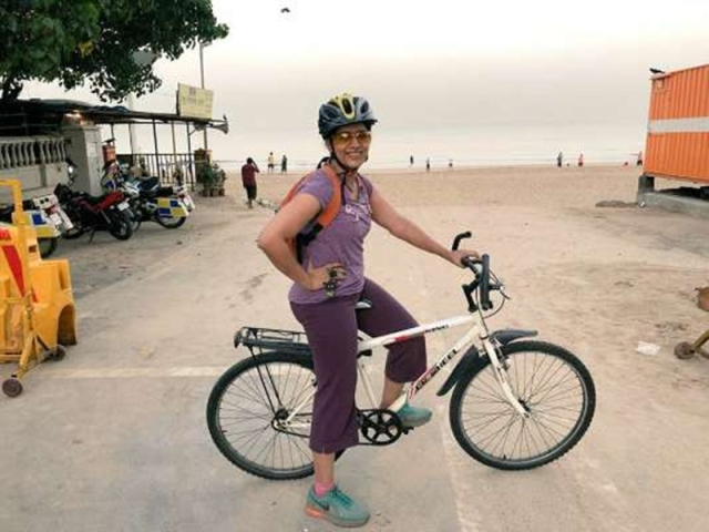 For Sonali Kulkarni, mission weekend is forts and beach sports