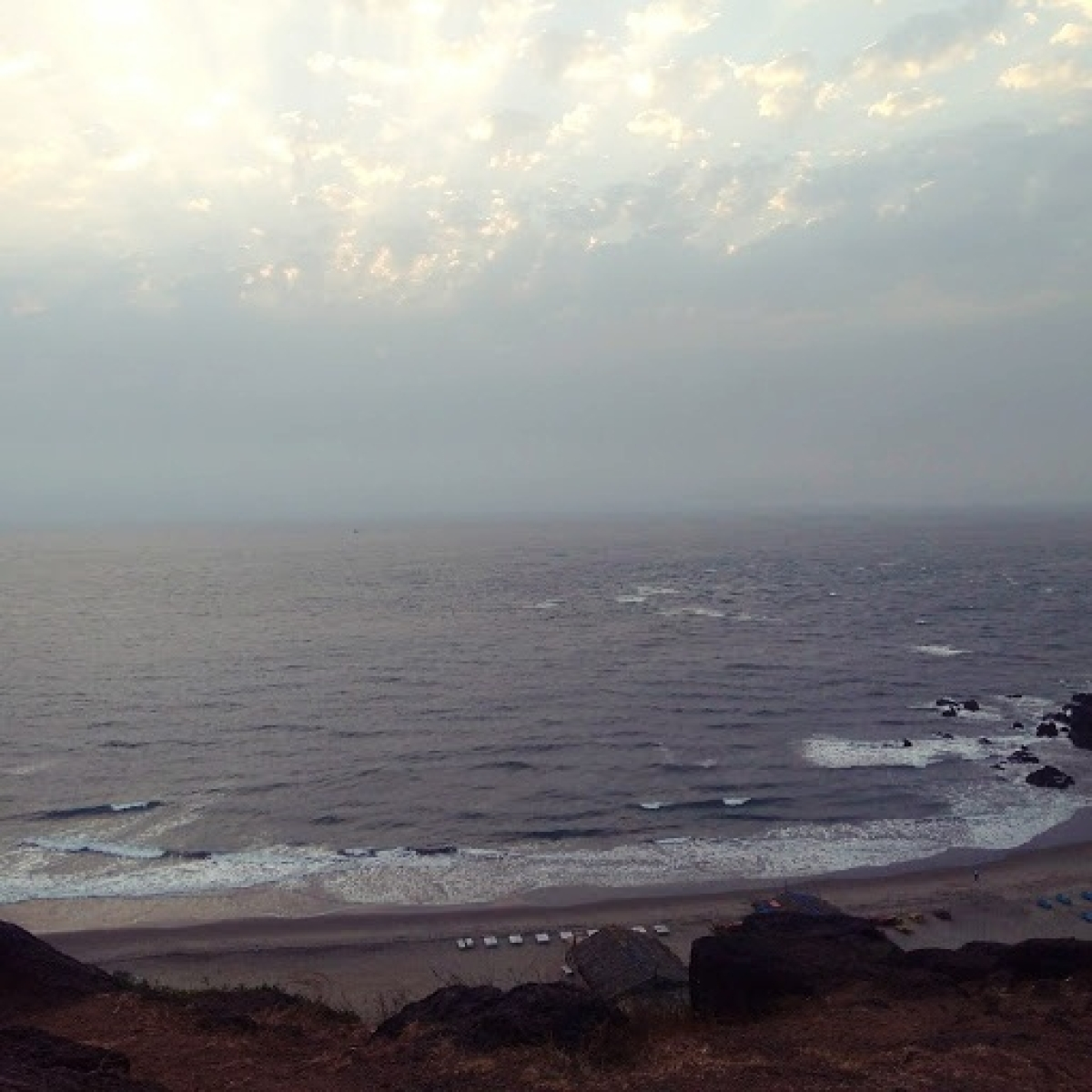 View from Fort Chapora