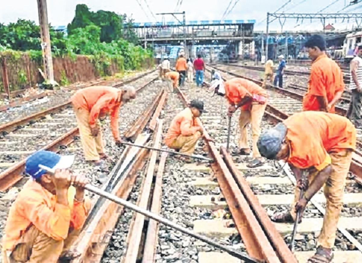 Mega block on Central Railway, Western Railway today