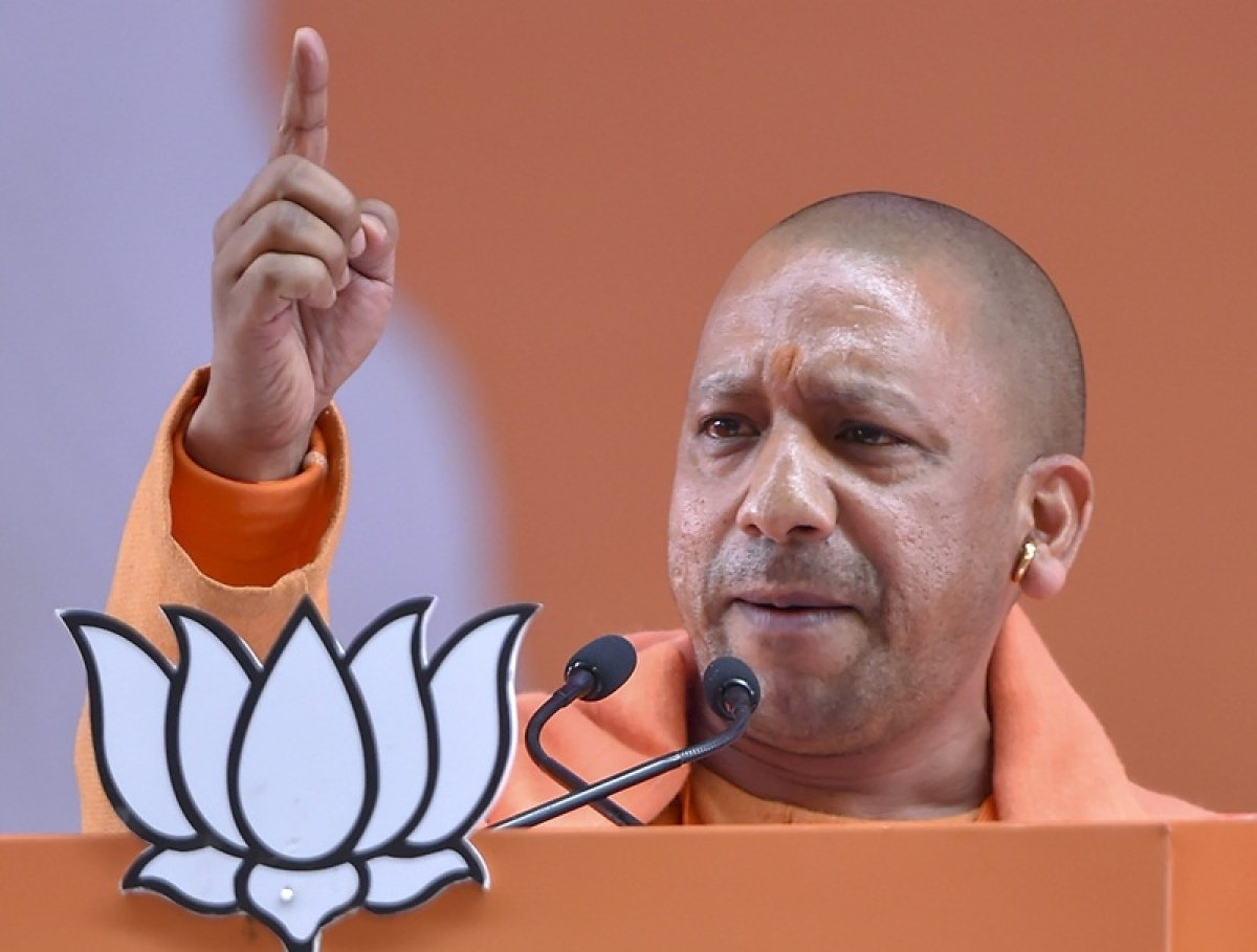 Congress has lies in its DNA: CM Yogi Adityanath