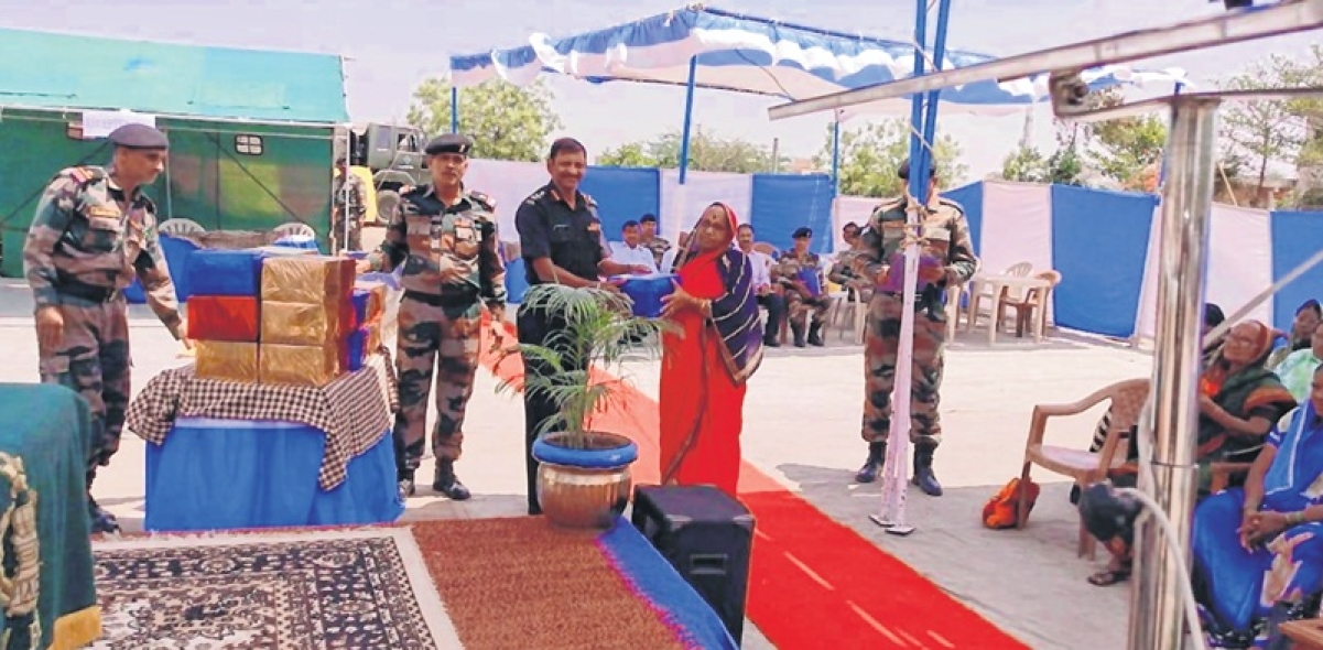 Army conducts outreach event at Latur's zila sainik board