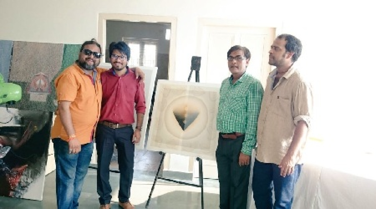 Bhopal: Hemant's artworks find place in Intl Art Exhibition