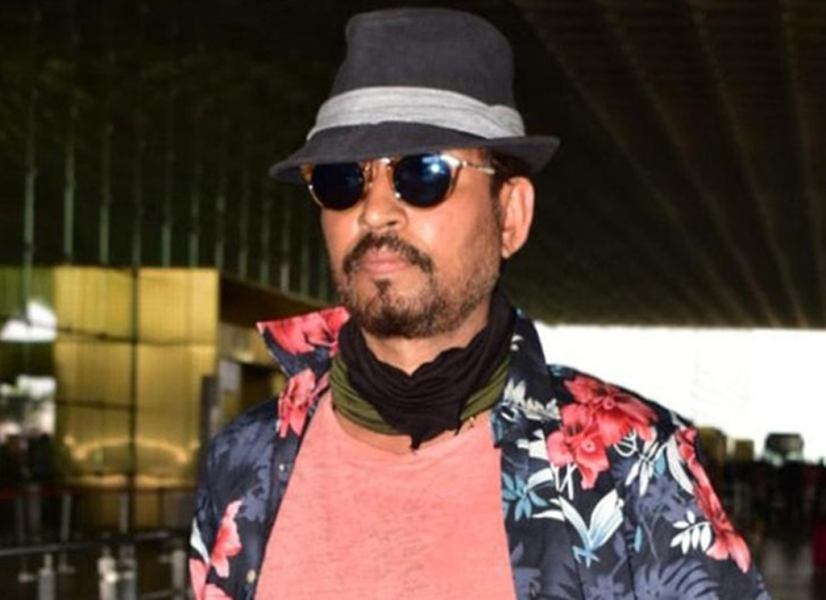 Watch Video: Irrfan Khan finally comes out in media, ahead of 'English Medium' shoot