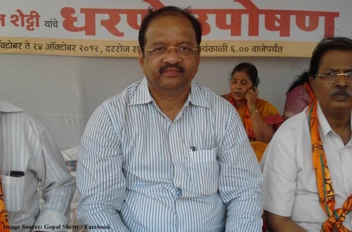 Mumbai North candidate Gopal Shetty and his brush with controversies