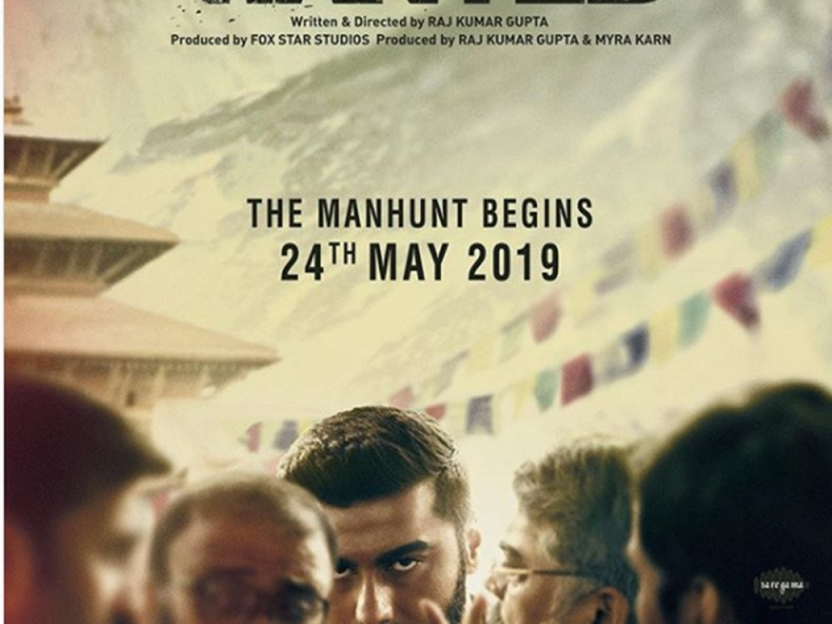 'India's Most Wanted' Poster out! Arjun Kapoor's intense look has made us impatient for the film