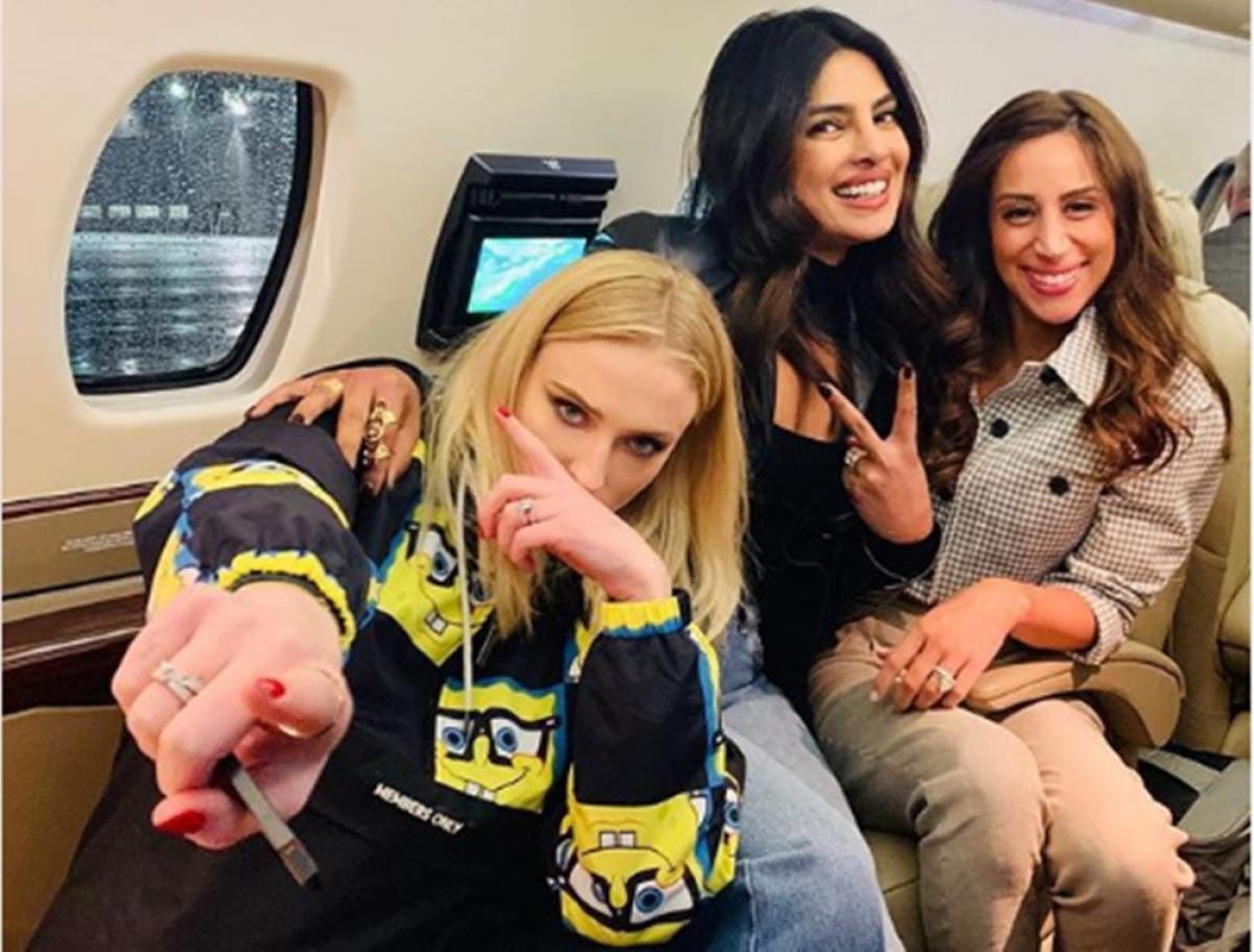 Priyanka Chopra shares pic with Sophie Turner and Danielle, calls them 'J sisters'