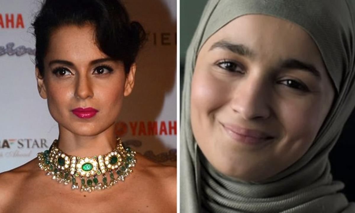 Kangana Ranaut takes a dig Alia Bhatt again criticizing her performance in Gully Boy
