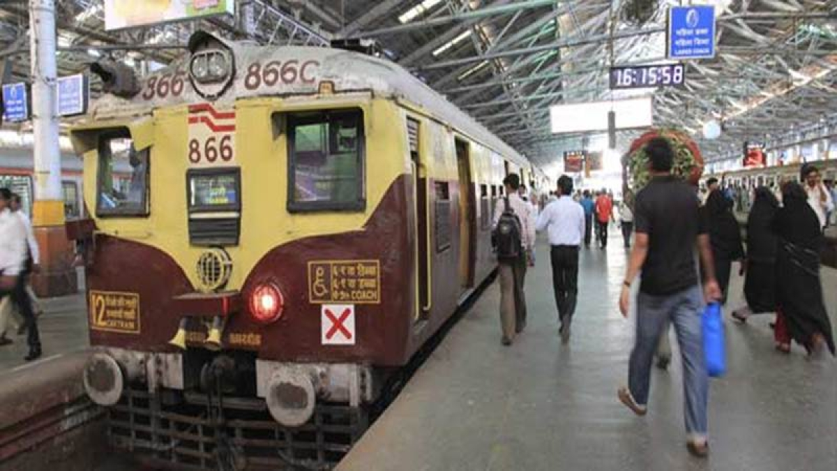 Mumbai suburban train services affect as coach derails in the morning