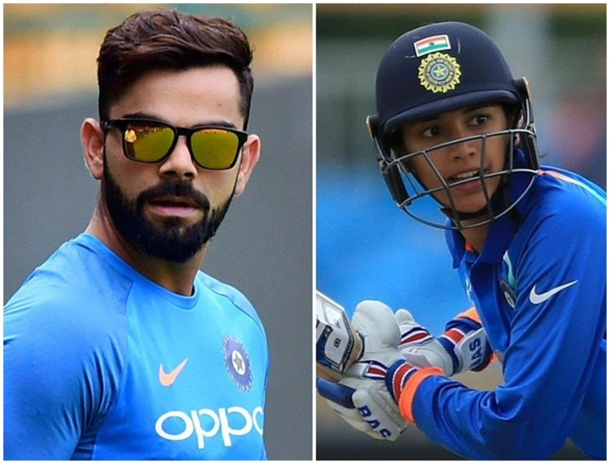 Virat Kohli and Smriti Mandhana named 'leading cricketer in the world' by Wisden Cricketers' Almanack