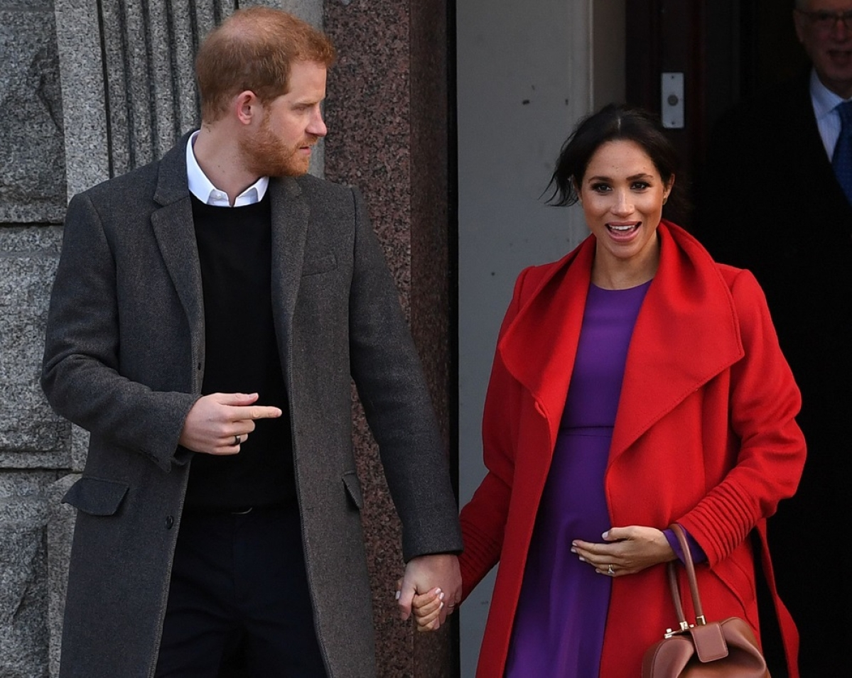 Meghan Markle and Prince Harry welcome the Royal Baby