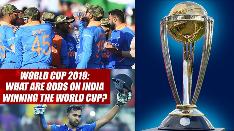 World Cup 2019: What Are Odds On India Winning The World Cup?