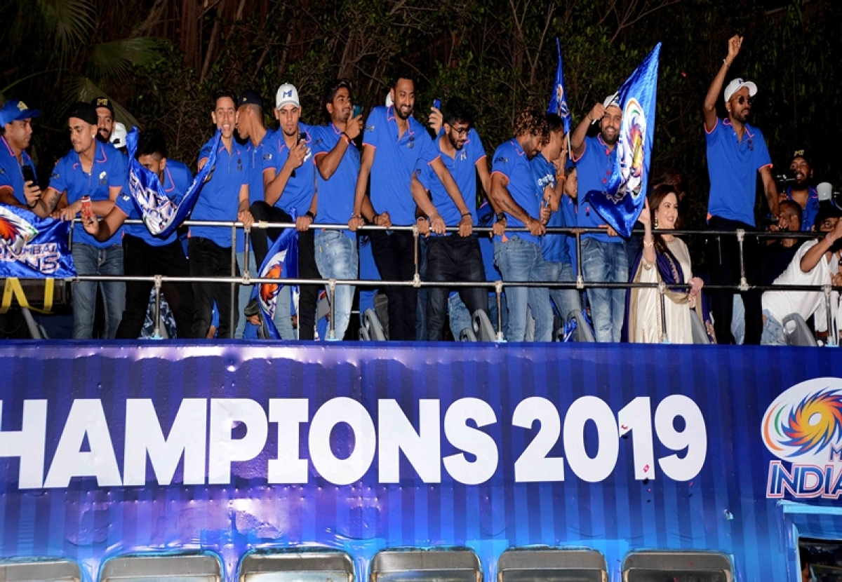 See Pics: Mumbai Indians celebrate IPL win with victory parade in 'open bus'
