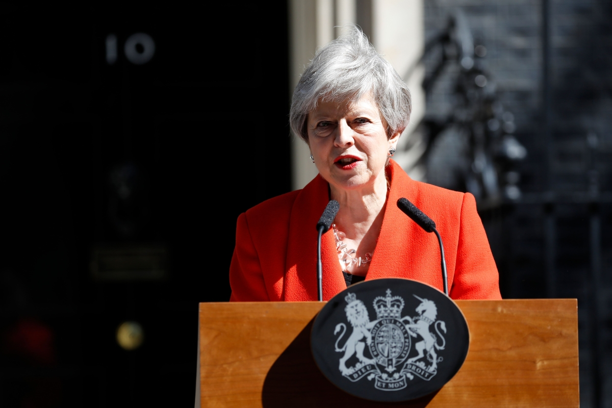 British Prime Minister Theresa May resigns over Brexit
