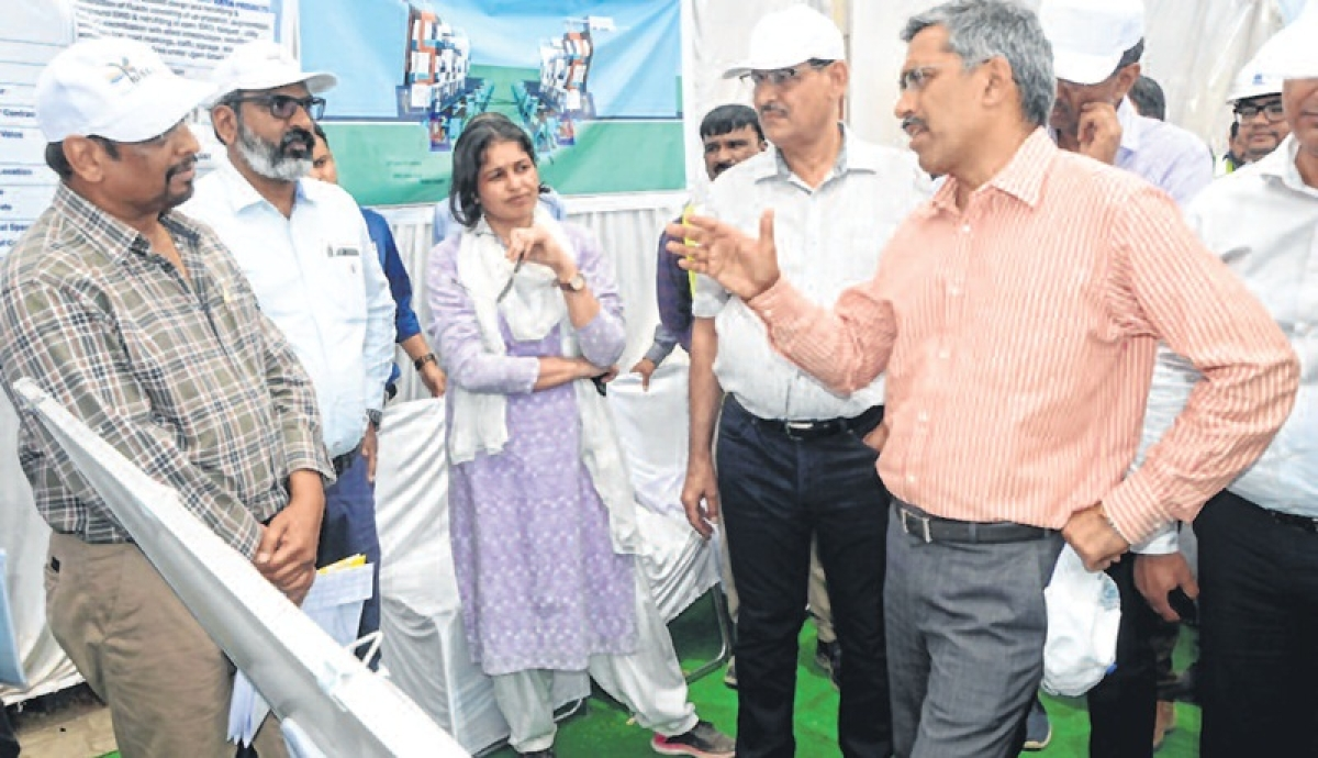 Ujjain: Smart City Project works inspected