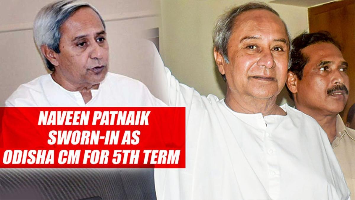 Naveen Patnaik Sworn In As Odisha CM For 5th Term
