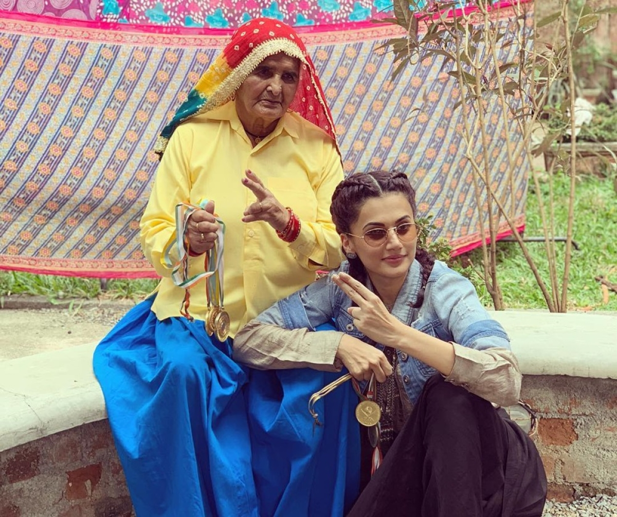 Taapsee Pannu claps back at trolls says, 'Aged actors refused to do Saand ki Aankh'