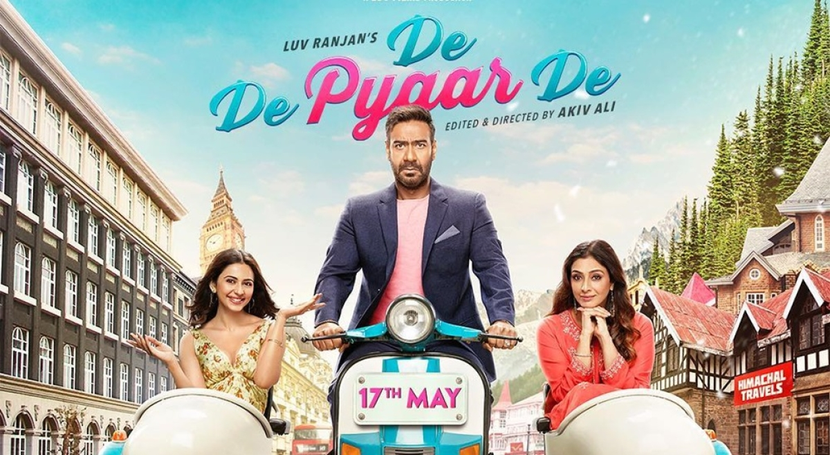 'De De Pyaar De' Movie Review : Ajay Devgn is back with an upbeat and contemporary take on romance