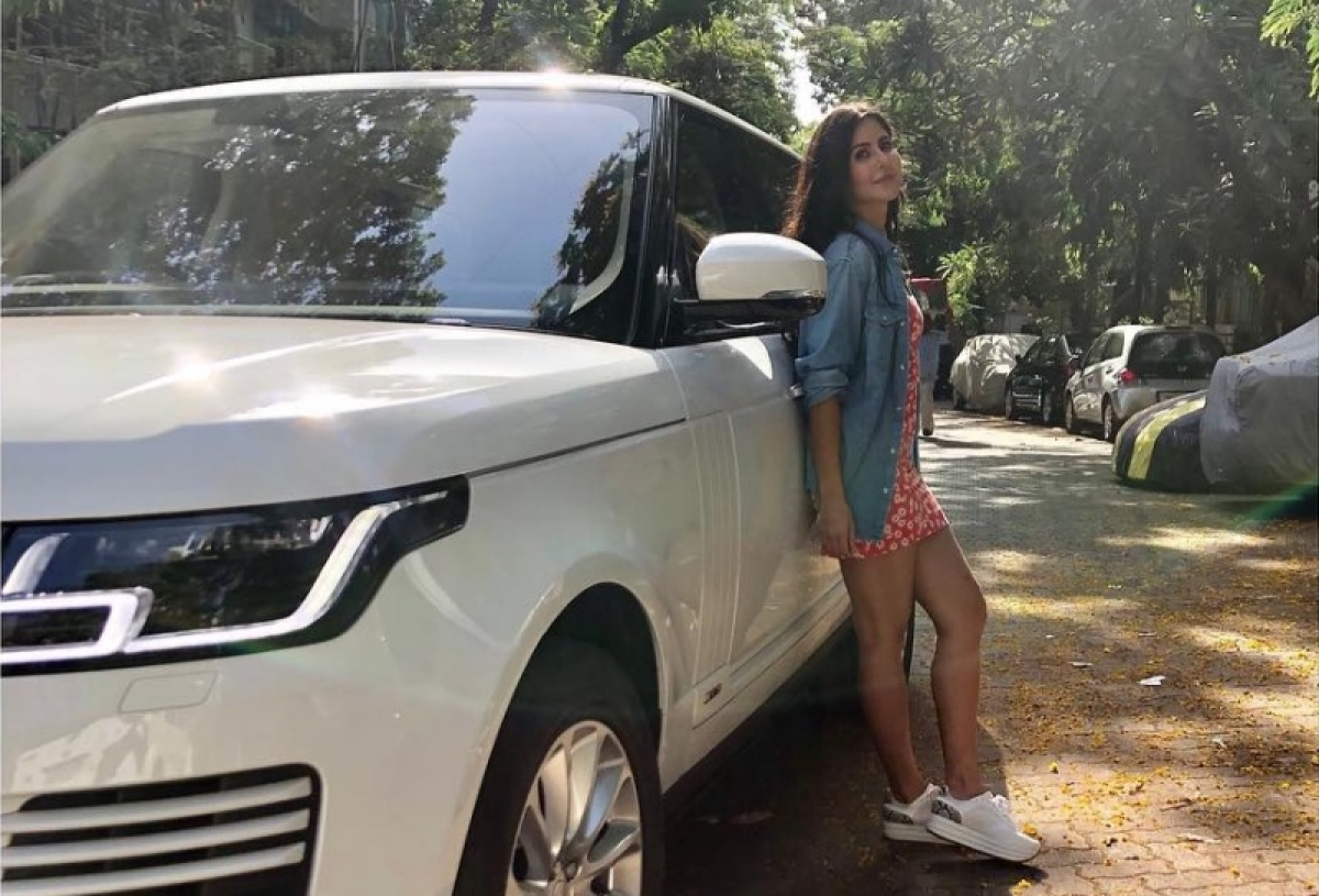 Katrina Kaif shows off driving skill while flaunting her new car