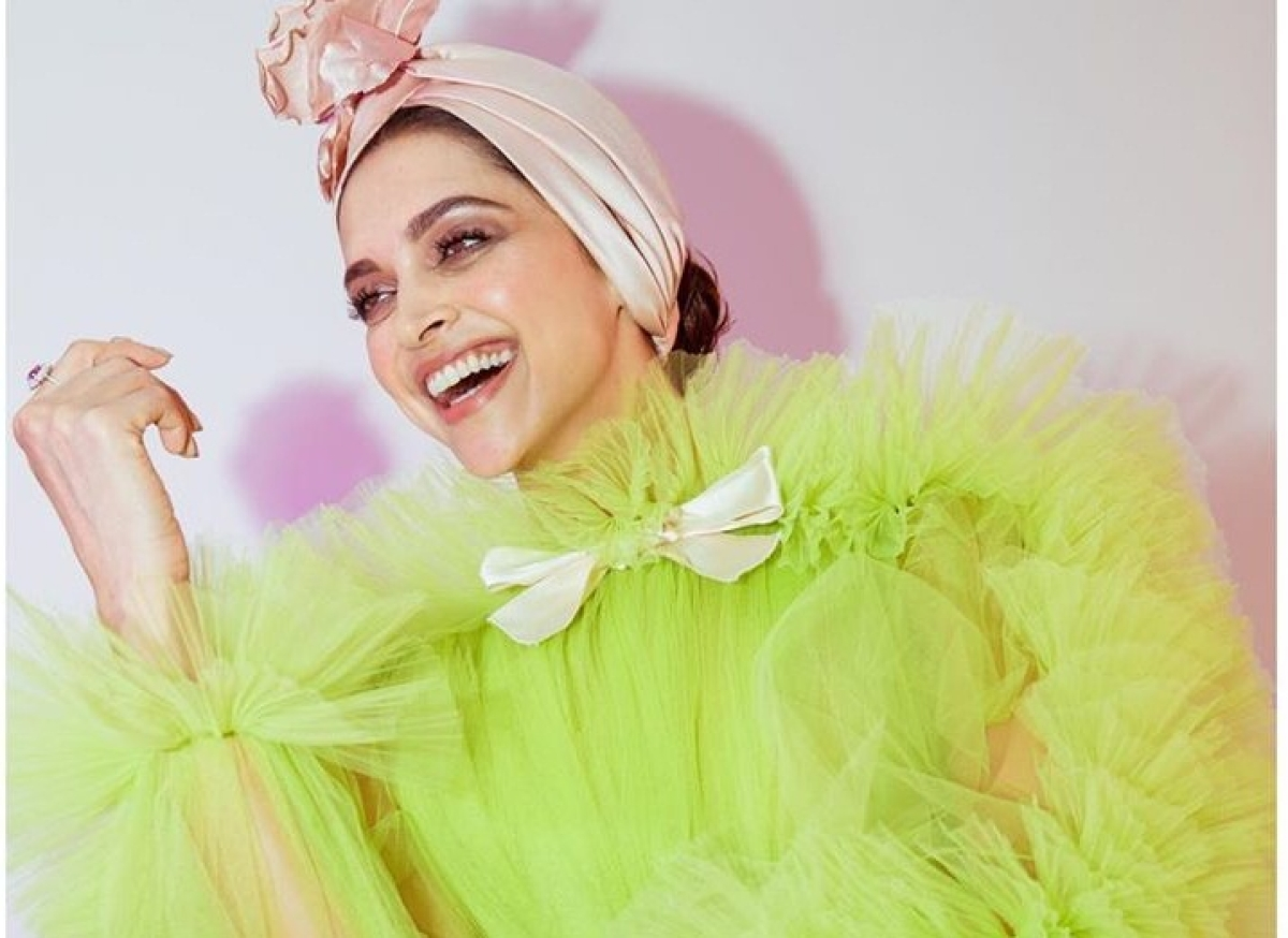 Deepika Padukone gives summery vibes in her lime green ensemble at Cannes 2019
