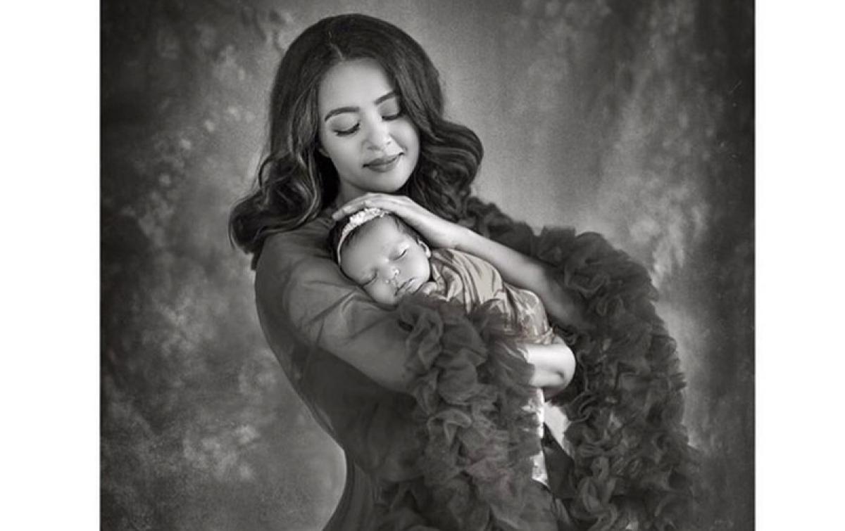 Surveen Chawla shares first image of her newborn daughter Eva