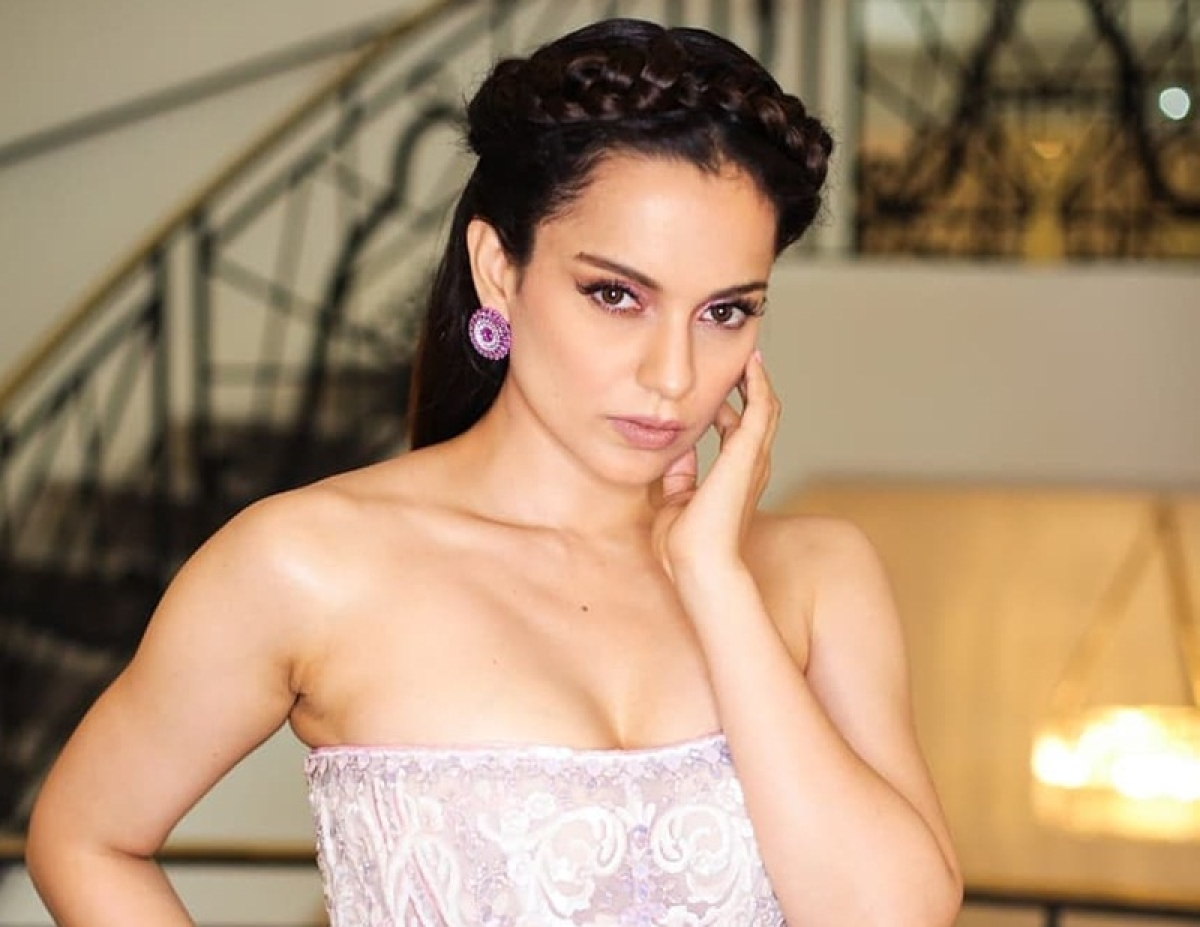 Kangana Ranaut is a princess straight out of a fairytale in her dreamy white embellished gown