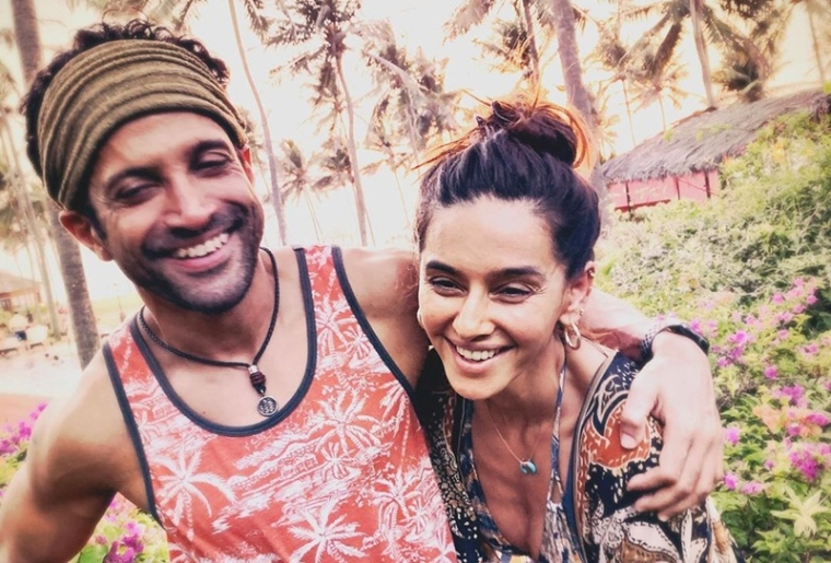 Beach bums: Farhan Akhtar, Shibani Dandekar share holiday photographs