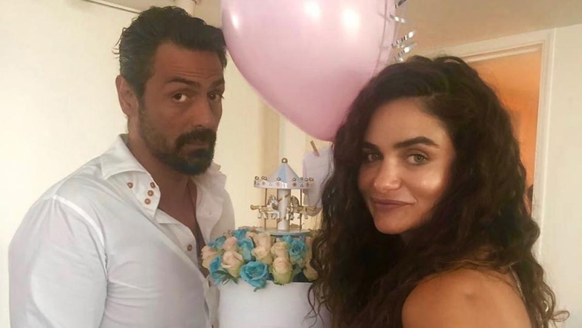 Arjun Rampal, girlfriend Gabriella Demetriades welcome first child together
