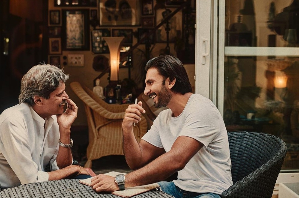 Ranveer Singh takes notes from Kapil Dev for '83'