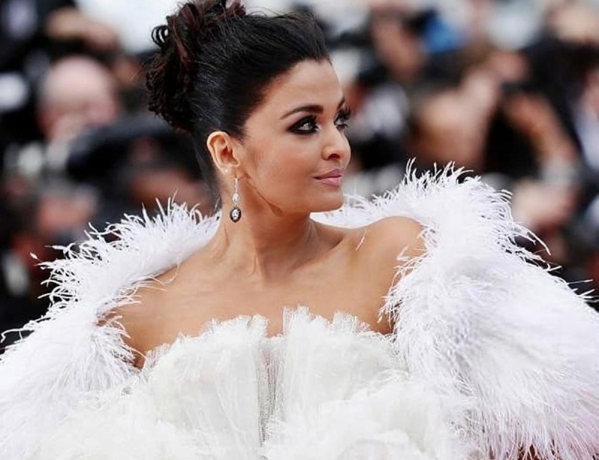 Aishwarya Rai Bachchan looks angelic in white ruffled dress at Cannes 2019 red carpet