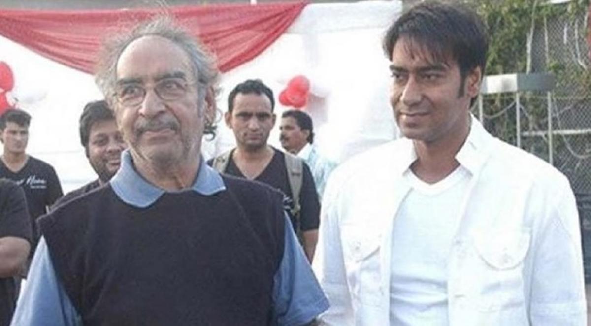 Ajay Devgn's father Veeru Devgan no more; funeral today at 6 PM in Mumbai