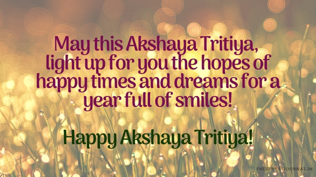 Akshaya Tritiya 2019: Wishes, messages, images and greetings to share on WhatsApp, Facebook, Instagram and SMS