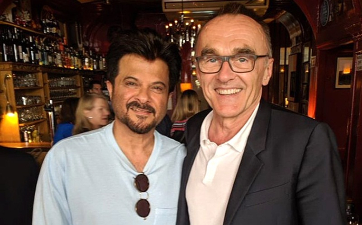 Anil Kapoor catches up with 'Slumdog Millionaire' director Danny Boyle in London