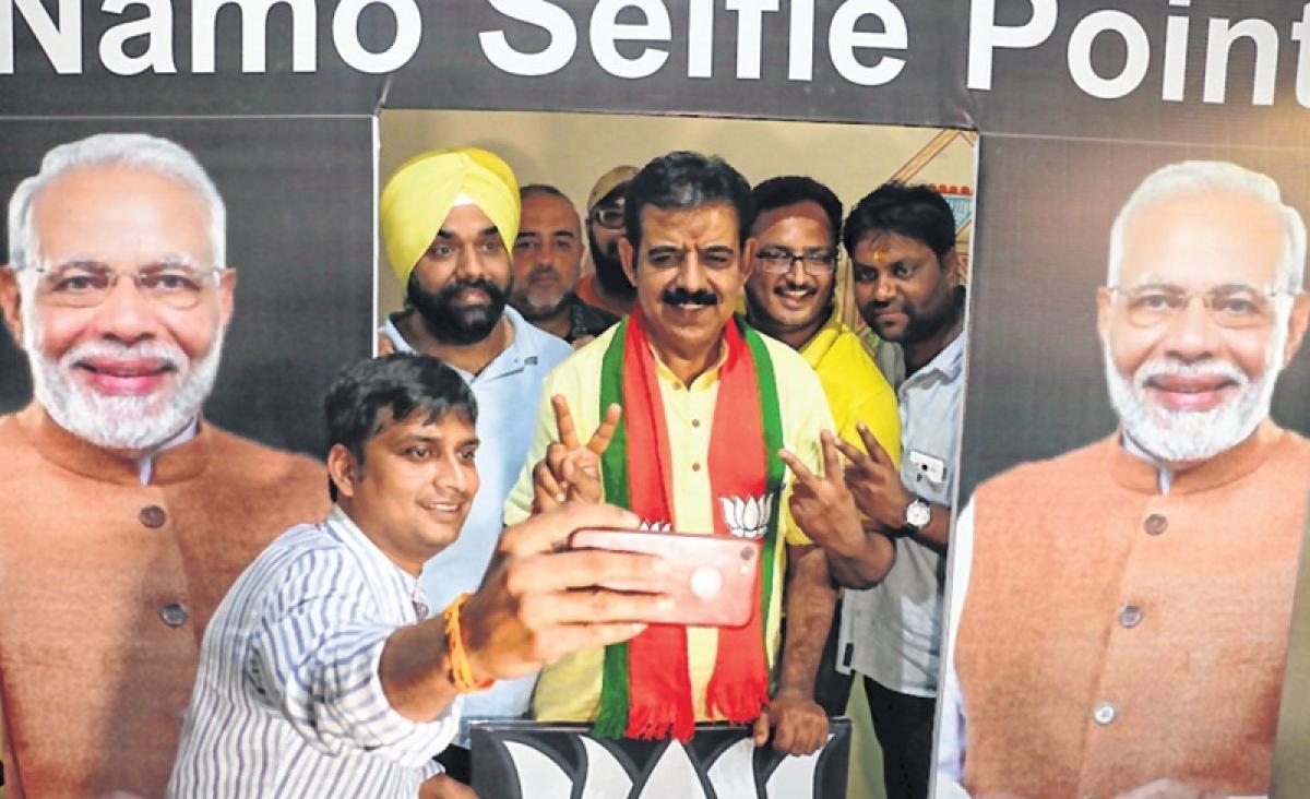 Indore: Congress will promote corruption says Shankar Lalwani
