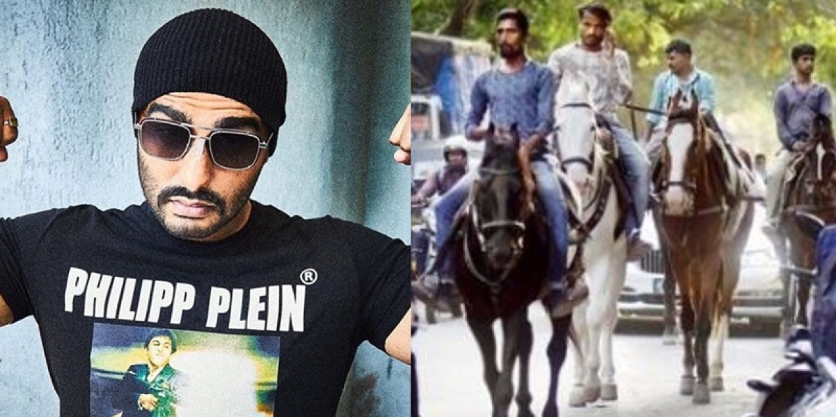 Arjun Kapoor's 'Panipat' shot in Andheri; filming with horses leads to traffic