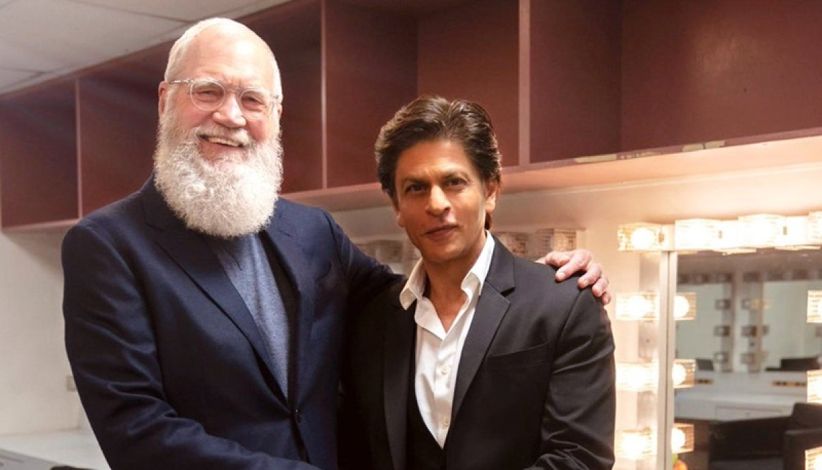 Shah Rukh Khan feels thrilled and honoured to share his story with Letterman