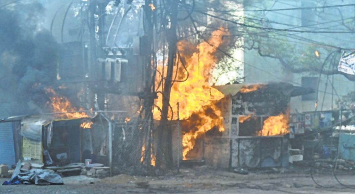 Bhopal: 7 shops gutted in fire