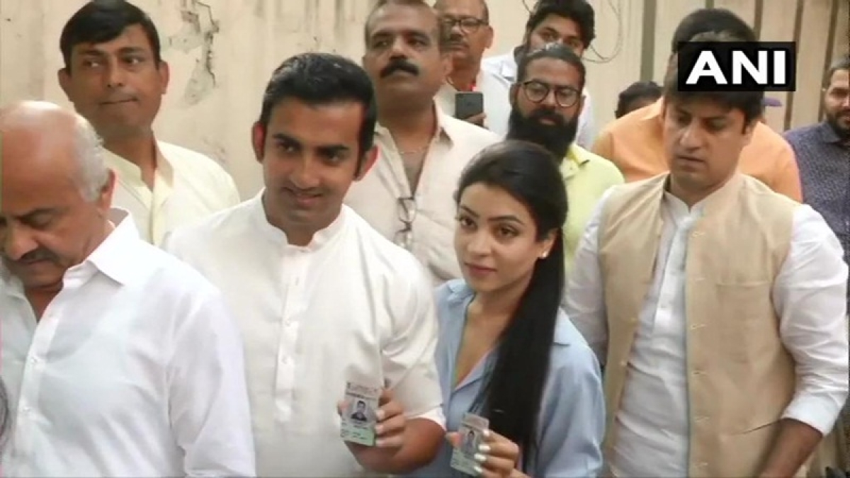 Lok Sabha elections 2019 – Sixth Phase: Gautam Gambhir, Ajay Maken, Arvinder Singh Lovely cast vote in Delhi