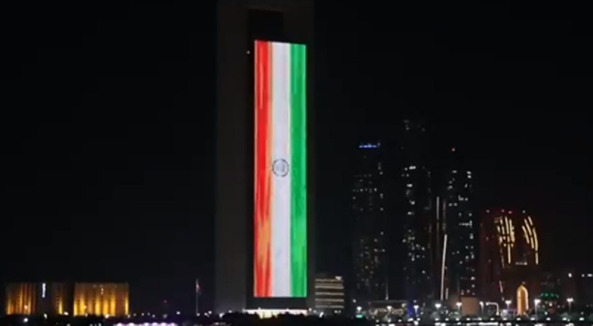 UAE government marks PM Modi's swearing-in ceremony by lighting up iconic ADNOC building